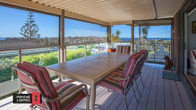 Photo for Mumbulla House: Generous home with exceptional views overlooking the ocean & mountain - Mum22