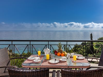 Photo for Near xigia beach, sea views, suitable for 8 people.