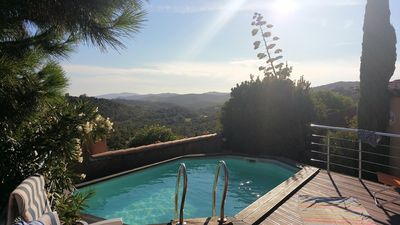 Photo for Villa with pool - Exceptional view - Domaine de Valcros