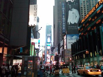 Times Square in Manhattan New York City - Amazing Area!