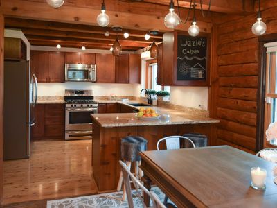 Photo for Beautiful Traditional Log Cabin