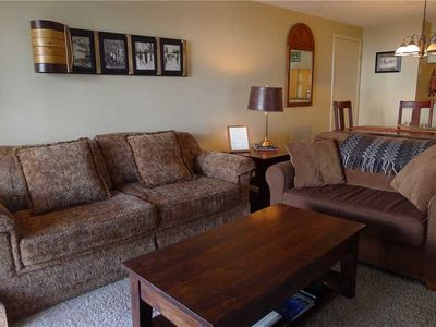 Photo for Outdoor Heated Pool and Hot Tub, On Shuttle Route! Sleeps 9!