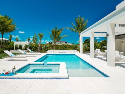 Photo for Contemporary four-bedroom villa in Turks and Caicos 2 Minutes Walk to the Beach