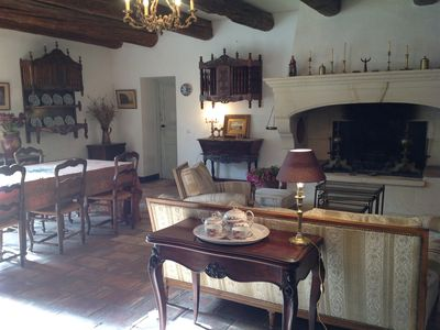 Photo for Authentic Mas Provencal 19th century ranked 4 * in a park of 5000 m² cloturé