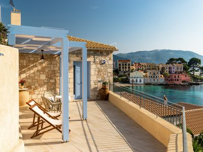 Photo for Fantastic villa on the Assos waterfront
