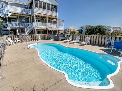 Photo for Four Sea Sons | 497 ft from the beach | Private Pool, Hot Tub