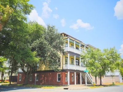 Photo for Stay with Lucky Savannah: Beautiful 3-story home 1 block from Forsyth Park