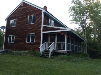 Photo for Spacious 4 BR Home near Moosehead Lake with access to Beach & Snowmobile Trails