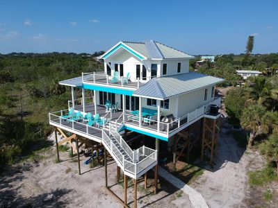 Photo for Heaven on the Beach, With Views From Beach to Bay! Come Wake up on Cloud 9!