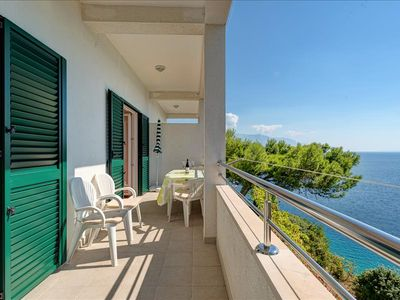 Photo for Comfort two bedroom apartment with balcony and sea view