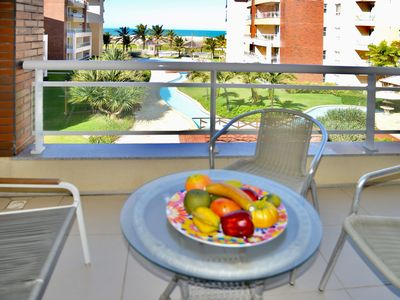 Photo for View LINDA, Apartment sea front, with 105m2, 3 bedrooms and 3 bathrooms, sleeps