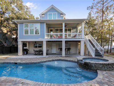 Photo for Near Ocean, Open Concept, Huge Pool, Steps to Beach, Fully Fenced Backyard!