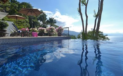 Photo for Spacious Open-Air Villa w/Unequaled Luxury/Views, 5 Mins to Town, Chef & Staff