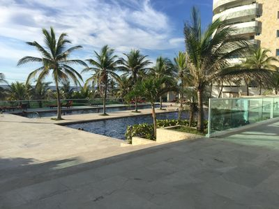 Photo for Beach Front Relaxation and Luxury in Cartagena