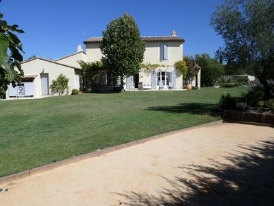 Photo for Traditional Provencal farmhouse, luxury services