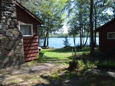 Photo for Family And Pet Friendly Lakefront Cottage With Bunkie On Oxtongue Lake