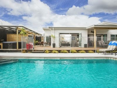 Photo for Club Tropicana - your private resort in Mangawhai