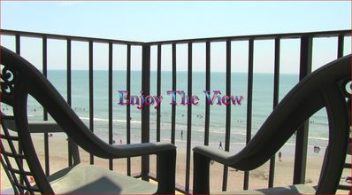 Photo for FEEL COZY IN THIS 2 BEDROOM OCEAN FRONT CONDO