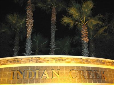 Indian Creek Resort Night View