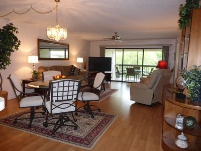 Photo for Upscale  2 BR condo for up to 4 people in scenic Sugarmill Woods, FLA