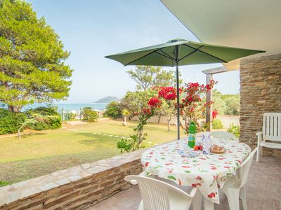Photo for Apartment with Garden, Balcony and Sea View