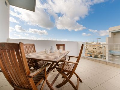 Photo for Charming 3 Bdr Penthouse in Bugibba