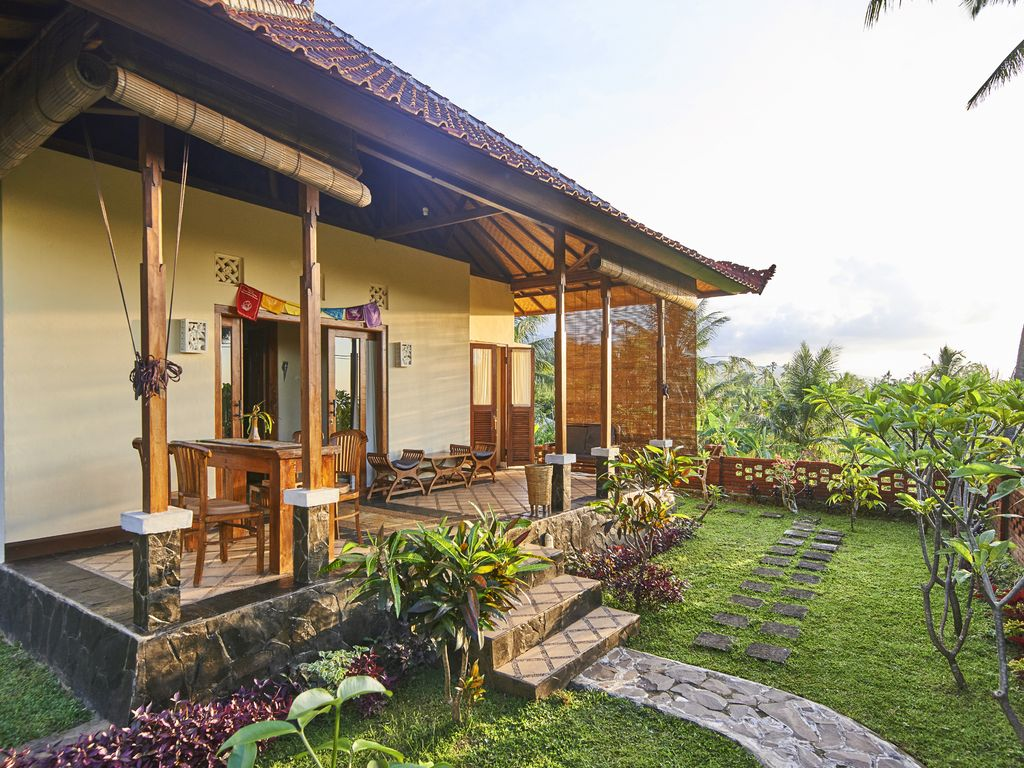 Dream House In The Rice Field In The Sunset Private Pool Free