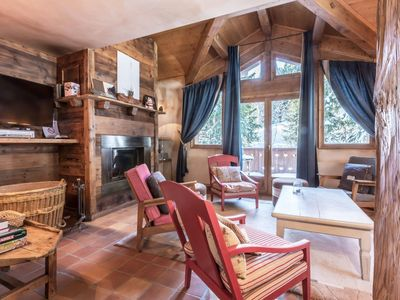 Photo for Charming chalet in Courchevel 1550, 50m from the slopes