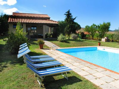 Photo for Villa with private pool near Pomarance