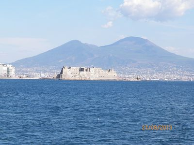 Photo for Apartment with panoramic Naples center terrace for 6 people