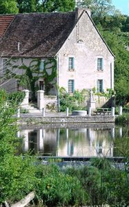 Photo for Historic Riverside Home, Southern Loire Valley