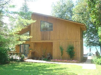 Photo for Prestine Lakefrontage with 4 kayaks and 2 paddleboards included sleeps 11