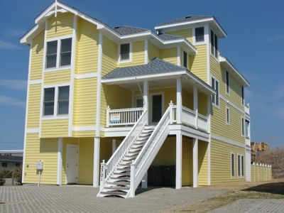 Photo for Special 10% Off May-Aug Open Wks, Oceanfront, 8 BR Pool, Elev, Hcap/Dog Friendly