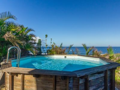 Photo for Kelonii - villa with magnificent sea views and pool in Saint-Leu