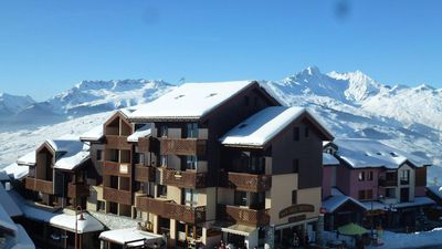 Photo for Surface area : about 23 m². 3rd floor. Orientation : South. View mountain and village