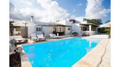 Photo for 6 bedroom Villa, sleeps 12 in Sant Rafel with Pool, Air Con and WiFi