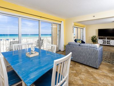 Photo for Islander 201: Beautiful 2 bedr/2 bath Gulf front condo.Completely remodeled!