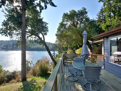 Photo for Spectacular waterfront home with Holmes Harbor view! 3 bed, 3 bath.(262)