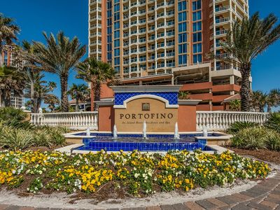 Photo for Luxury Condo in Portofino Resort - Closest Tower to Pensacola Beach
