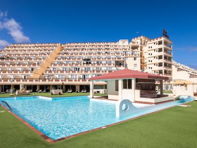 Photo for Apartment On the Beach with Pool, Terrace, Balcony, Fantastic Views & Wi-Fi