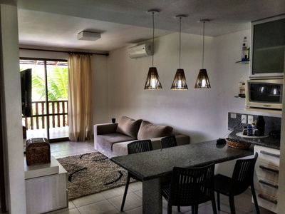 Photo for Luxury Duplex, 10 people. Nannai Residence, Muro Alto 9 km north of Porto de Galinhas