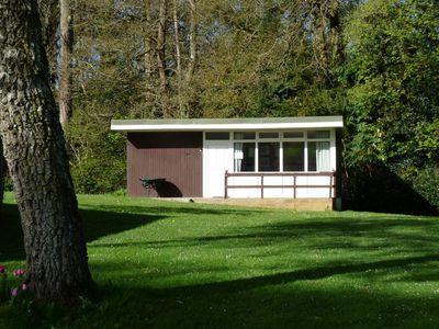 Photo for Little Ash 95 Chalet Retreats Woodlands Park Gilfachrheda New Quay Wales