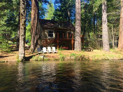Photo for Lassen Creek-Side 4 Bedroom Home with Giant Sequoias Pines & Cedars