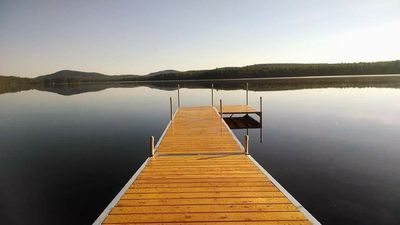 Photo for Quiet Northern Penobscot County Cottage, Upper Shin Pond Waterfront