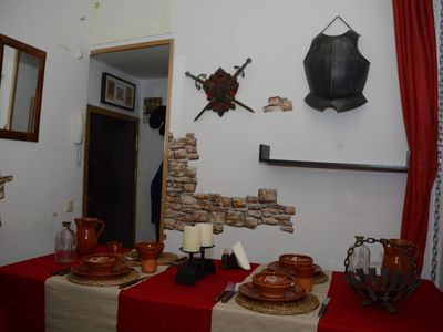 Photo for The medieval corner, in the center.