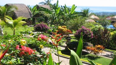 Photo for Seaview Villas at Tropical Garden with Staff and Car! Group bookings possible!