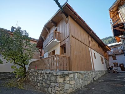 Photo for Kashmir   Beautiful New Chalet   in Le Praz Center   250m from the cabin