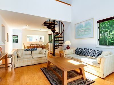 Photo for Whole duplex with private decks - perfect for a big group ski-cation!
