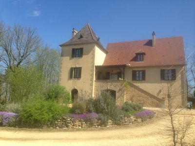 Photo for Large peaceful Gite with HEATED Pool in Les Eyzies, WiFi, swings, toys