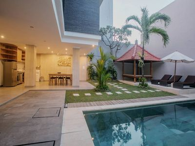 "Photo for Modern Holiday 4 Bedroom Villa ""Eat Street"", Seminyak"